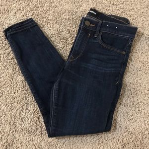 Express dark blue jeans